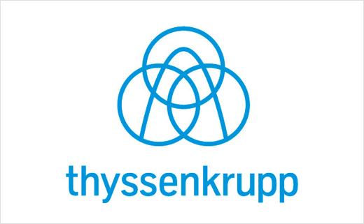 Thyssenkrupp engineering logo design 2