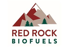 Red rock biofuels logo