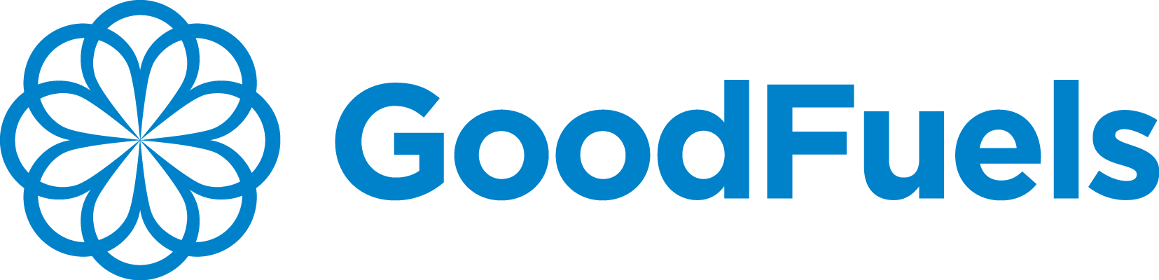 Goodfuels logo blue