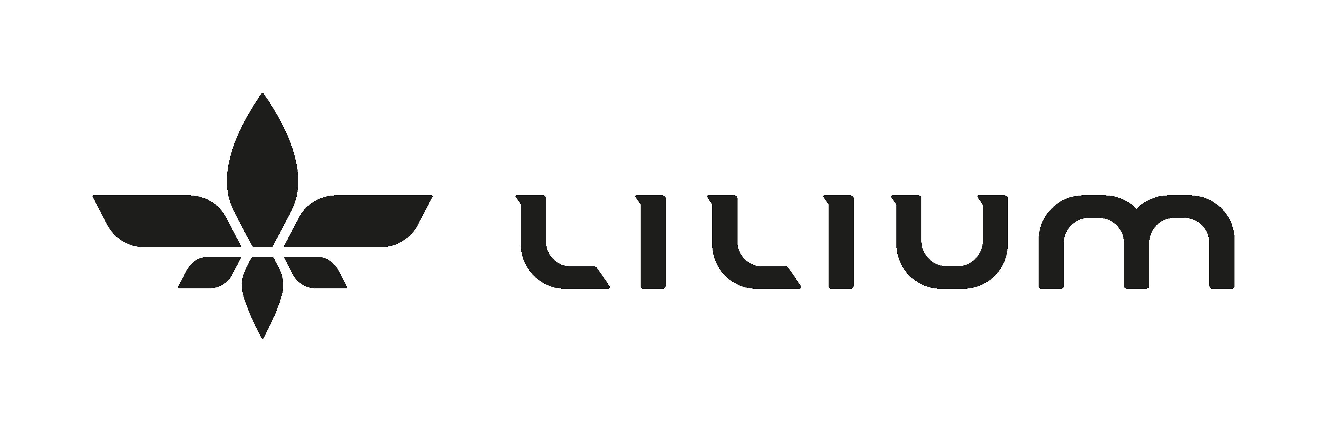 Lilium logo black