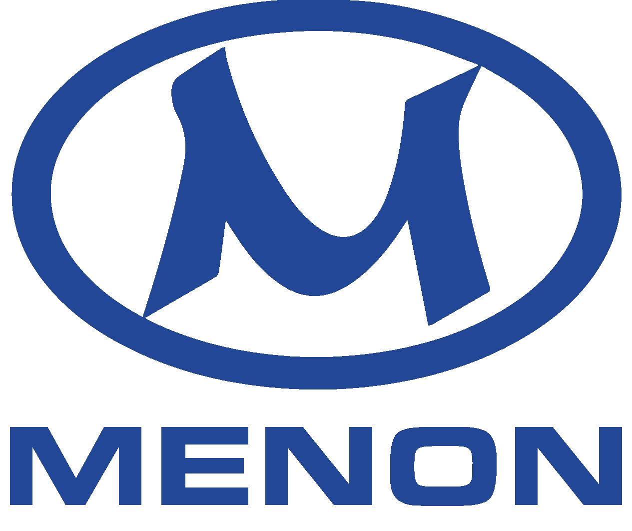 Menon logo blue