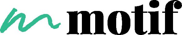 Logo motif teal